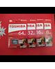 - کارت حافظه Toshiba 16GB