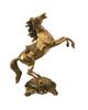 - مجسمه برنزی پاتریس کلاسیک مدل اسب کد Pat-114