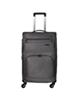 - چمدان مدل کاریبو کد 6121 سایز بزرگ - طوسی تیره