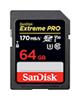 SanDisk SDXC-64GB-Extreme Pro V30کلاس10استاندارد UHS-I U3 سرعت 170mbps