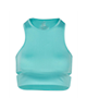 RNS نیم تنه ورزشی زنانه کد 101121 - سبز آبی - آستین حلقهای -طرح دار