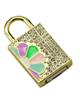 Non -Brand UJ-042 -طرح قفل-فانتزی زنانه - دخترانه-32GB-USB 2.0