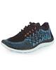 SOCCEREX کفش ورزشی زنانه مدل EX-8834 - مشکی آبی - الیاف مصنوعی و کتان